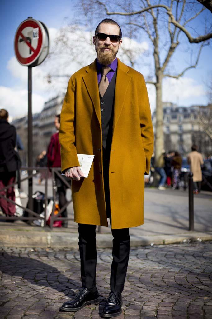 Paris Street Style Mar. 05, 2014 RTW Fall Winter 2014