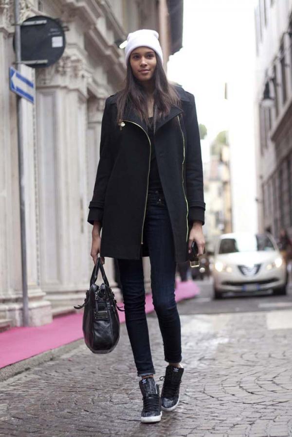 Milan Street StyleFeb. 20, 2014RTW Fall Winter 2014