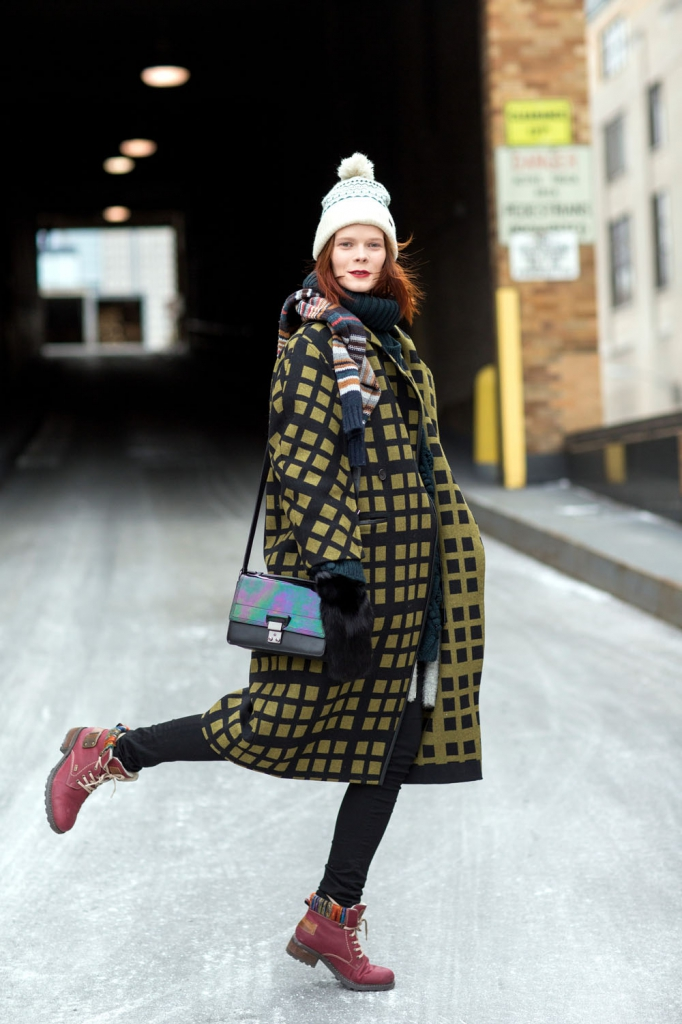EXCLUSIVE Mercedes-Benz New York Fashion Week - Streetstyle