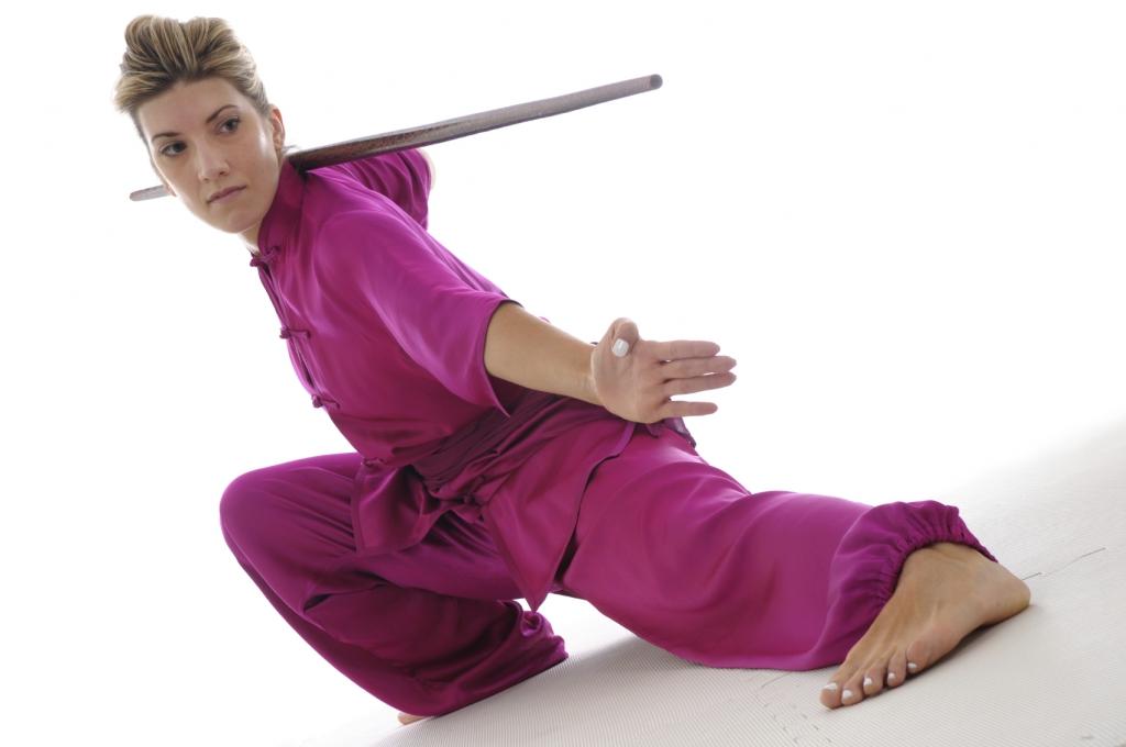 Wushu silk