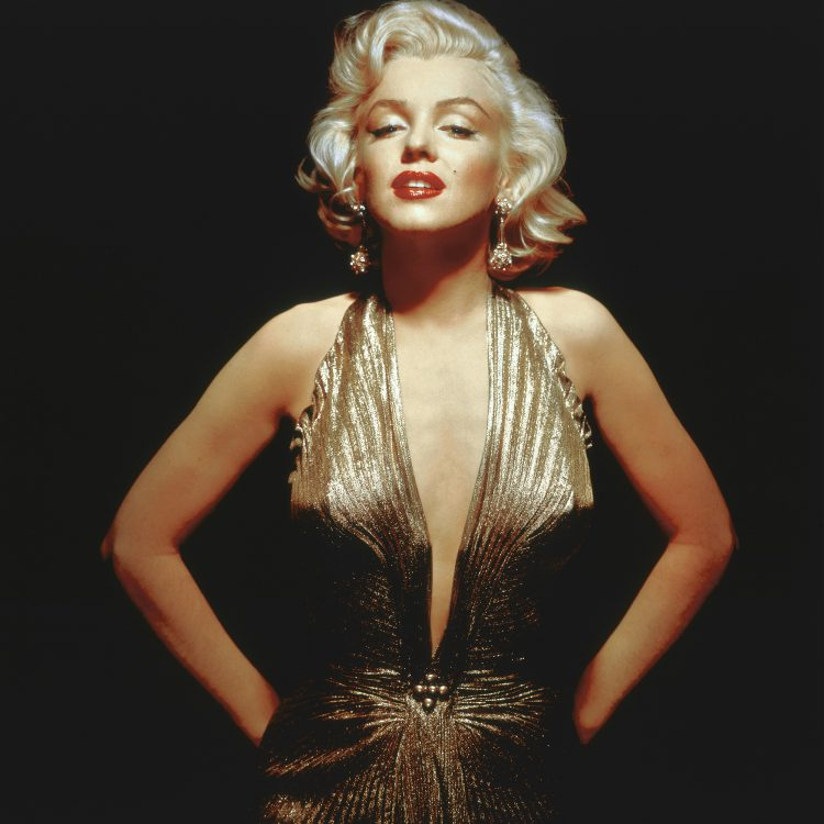 American actress, singer, model and sex symbol Marilyn Monroe. (Photo by Frank Povolny/Twentieth Century Fox/Sunset Boulevard/Corbis via Getty Images)